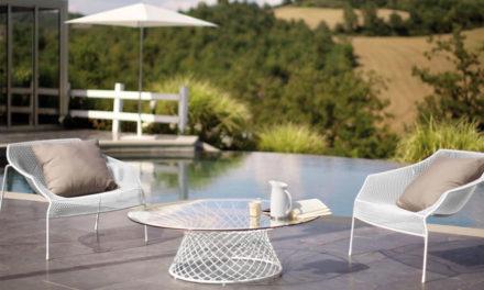 Mobili da giardino: materiali moderni da utilizzare